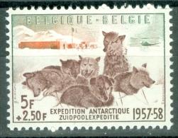 Belgium 1957 Antarctic Expedition, Dogs MNH** - Lot. 2543 - Belgique