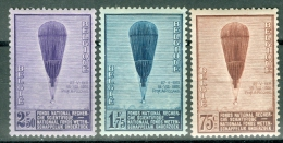 Belgium 1932 Piccard's Two Ascents To The Stratosphere MNH** - Lot. 2544 - Neufs