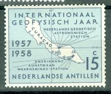 Netherlands Antilles 1957 International Geophysical Year MNH** - Lot. 2546 - Curacao, Netherlands Antilles, Aruba