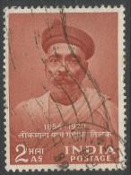 India. 1958 Birth Centenary Of Tilak. 2a Used. SG 374 - 1950-59 Republic