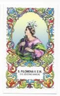 Santino Santa Filomena Di San Severino Marche - Holy Card - Image Pieuse - Andachtsbilder - Images Religieuses