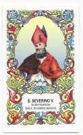 Santino San Severino Vescovo Di Septempeda Ora San Severino Marche - Holy Card - Image Pieuse - Andachtsbilder - Images Religieuses