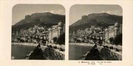 Monaco, La Route De Monte Carlo - Stereoscopic