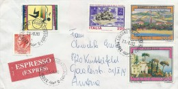 Italy  -  Expres Cover Sent To Austria 1980.   # 788 # - Italy