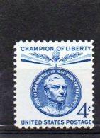 ETATS-UNIS    4 C   Année 1959     Y&T:661   (neuf Sans Charnière) - Nuevos