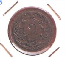 SUISSE //  2 RAPPEN 1888 B    //  KM # 4.1  //    ETAT  TTB  //  RARE - Suisse