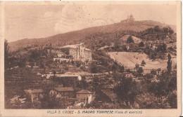 R5 675 - SAN MAURO TORINESE - VILLA S. CROCE - SUPERGA SULLO SFONDO - TORINO - VG. A. 1928 - Non Classificati