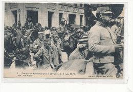 HEBUTERNE  Prisonniers Allemands Pris à Hébuterne 1915  Animée , Société Générale - Frankrijk