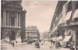PARIS RUE HALEVY CPA NO 81 ANIMEE - Arrondissement: 09