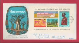 BOTSWANA, 1981,  Mint Cover, Vaccine Institute, MI  286, F3630 - Botswana (1966-...)