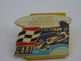 PINS CIRCUIT INDYCAR / CART AMERICAIN / SURFER PARADISE 17 OCTOBRE 99 A VOIR - F1