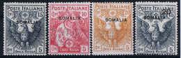 Italia Colonie - Somalia: Sa 19-22, Mi 20-23 MH/* - Somalie