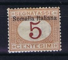 Italia Colonie - Somalia: Segnatasse Sa 12 MH/* - Somalie