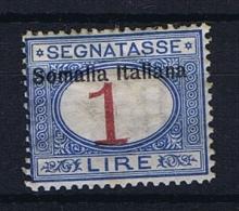 Italia Colonie - Somalia: Segnatasse Sa 19 MH/* - Somalie
