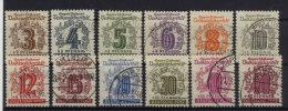 West Sachsen Michel No. 138 - 149 gestempelt used