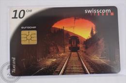 Switzerland Collectible Train Phone Card - Connecting Switzerland - Trenes