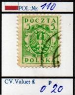 POLAND:PROVSIONAL #CLASSIC DEFINITIVES (POL 250-1 (16) - 1919-1939 Republik