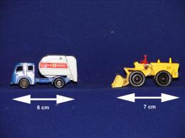 MATCHBOX LEYNEY BENNE A ORDURE + TRACTEUR PELLE - Toy Memorabilia