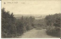 Châtau  De  Soheit -- Le  Parc.   (2 Scans) - Tinlot