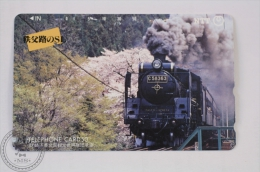Japan Collectible Train Phone Card - Steam Locomotive Class C58 Chichibu-Railway PALEO EXPRESS - Trenes