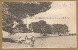 1012. - CARQUERANNE  Bord De Mer Les SABLETTES écrite1914 - Carqueiranne