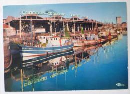 Cpm Dieppe Le Port De Peche Et De Plaisance Panneau Poisson Dieppois Poisson De Choix - Dieppe