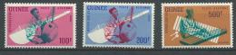 """Guinée Aerien YT 19 à 21 """" Musique """" 1962 Neuf** - Guinea (1958-...)"""