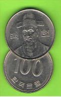 COREA DEL SUR - 100 WON  1989 - Coreal Del Sur