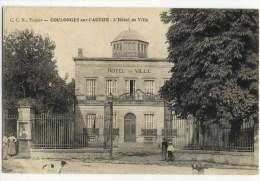 OULONGES Sur L'AUTIZE  - L'Hôtel De Ville. - Coulonges-sur-l'Autize