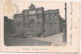 L270_951 - Rome - Roma - 8 Fontana Di Trevi - Carte Précurseur - Fontana Di Trevi