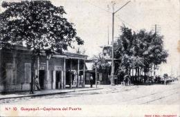 RRR! ECUADOR - GUAYAQUIL - Capitania Del Puerto, Orig.Karte 1930?, Verlag Janer è Hijo - Guayaq - Ecuador