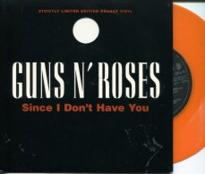 "Guns N' Roses""45t Vinyle Orange""Since I Don't Have You""Collector - Hard Rock & Metal"