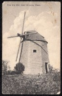 1912 RARE ! THE OLD MILL - EAST ORLEANS - Mass.  MOLEN - New Orleans