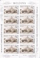 Moldau , Moldova , Moldavie , 2014 , 200 Years Of Germans In Bessarabia , Germany , Bessarabie , Sheetlet , MNH - Moldawien (Moldau)