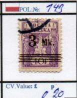 POLAND:REPUBLIC #CLASSIC DEFINITIVES (POL 250-2 (14) - 1919-1939 Republik