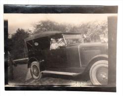 Automobile - Photo Originale - Voiture De 1928 à Identifier - Format 9.3 X 6.8.cm - Coches