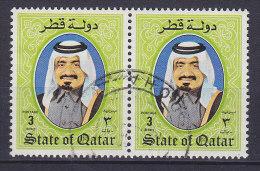 Quatar 1984 Mi. 864    3 R Scheich Khalifa Bin Hamad Al-Thani - Qatar