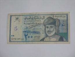 200 Two Hundred Baisa -1995 - Central Bank Of Oman  **** EN ACHAT IMMEDIAT **** - Oman