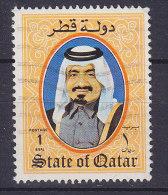 Qatar 1984 Mi. 861    1 R Scheich Khalifa Bin Hamad Al-Thani - Qatar