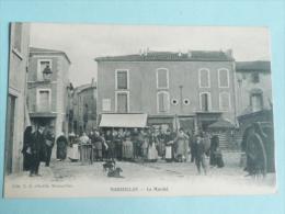 MARSEILLAN - Le Marché - Marseillan