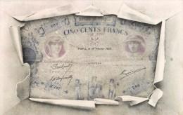 BILLET DE BANQUE DE CIQN CENTS FRANCS 500 FRANCS NUMISMATIQUE 1900 - Monete (rappresentazioni)