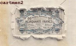 BILLET DE BANQUE DE 50 FRANCS NUMISMATIQUE 1900 - Monnaies (représentations)