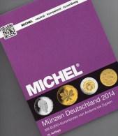 Münzen-MICHEL Deutschland 2014 Neu 25€ : DR Ab 1871 III.Reich BRD Berlin DDR Numismatik Coin Catalogue 978-3-94502-074-4 - Postzegels