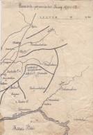 MAPS  --  RUSSISCH   -  JAPANISCHER KRIEG 1904 - 05  --  BATTLE OF LIAOYANG  --  OYAMA IWAO, A. KUROPATKIN - Militair