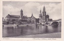 AK Dresden - Ständehaus, Schloss Und Katholische Kirche - 1932 (4265) - Dresden