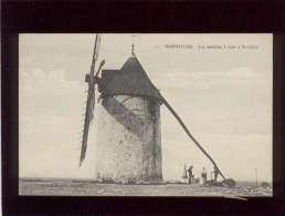 85 Noirmoutier Les Moulins à Vent à Barbatre édit. Artaud Nozais N° 110 ? , Moulin à Vent - Ile De Noirmoutier