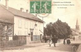 Cpa 88 Thaon Les Vosges La Gendarmerie Belle Animation Rare - Thaon Les Vosges