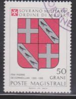 SMOM Sovereign Military Order Of Malta Mi 253 Grand Masters Coat Of Arms - Fra' Pierre De Corneillan - 1986 - Malta (Orde Van)