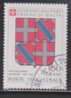 SMOM Sovereign Military Order Of Malta Mi 254 Grand Masters Coat Of Arms - Fra' Dieudonnè De Gozon - 1986 - Malta (Orde Van)