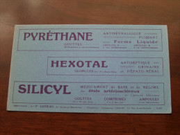 PYRETHANE - HEXOTAL - SILICYL ( Loiseau Paris - Details Zie Foto ) ! - Produits Pharmaceutiques